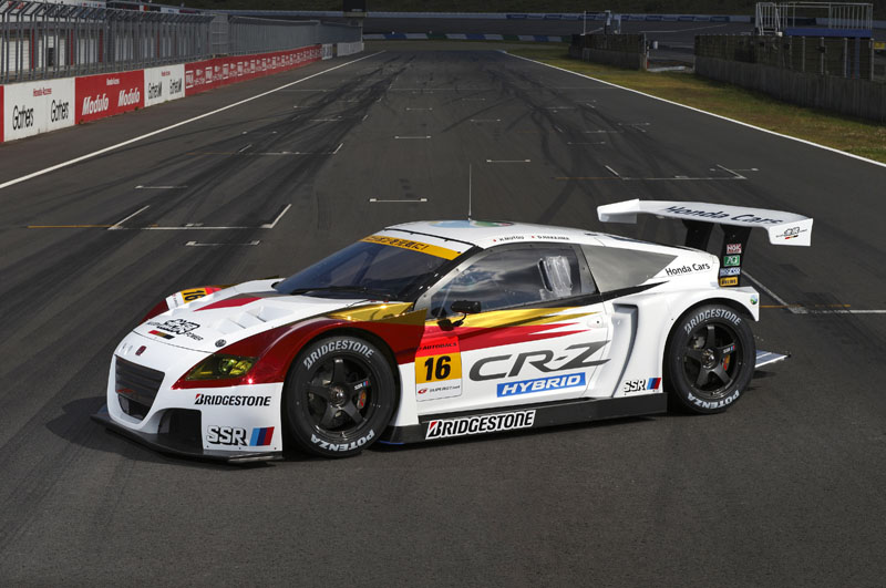 The Cr-z Goes Racing