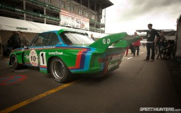 3.5ltr 1976 BMW CSL @ Le Mans picture by Bryn Musselwhite