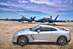 Nissan Visits Elite Blue Angels for Future Sports Car Innovation