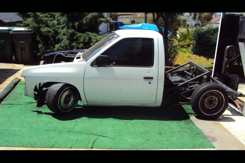 Building A Lexus-powered Nissan Drift Truck