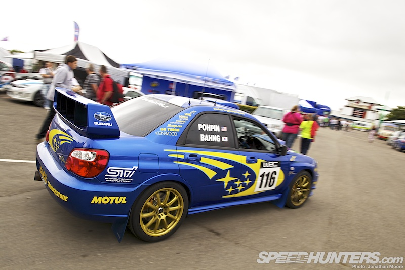 Rallyday: Impressed By Imprezas