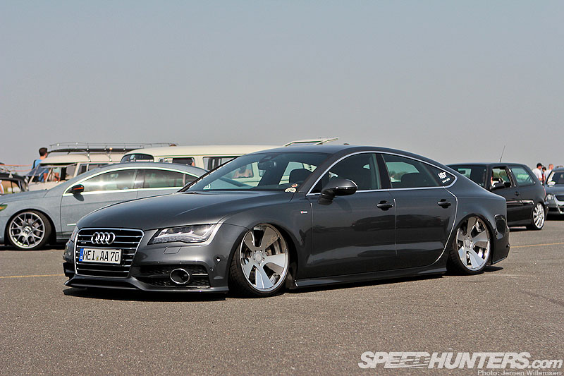 Dropped Four-ringer A7 Sportback