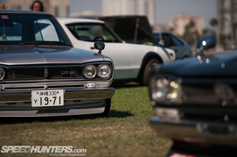 Where Old Meets New: Japanese Classic Car Show