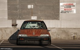 Rust Bucket Civic Wagovan 1920x1200px photo by Sean Klingelhoefer