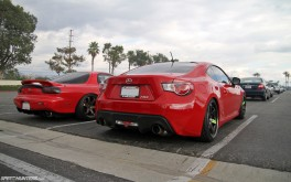 Formula Drift Irwindale Parking Lot - Photo by Mike Garrett