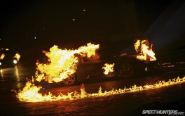1920x1200 Porsches on firePhoto by Jonathan Moore