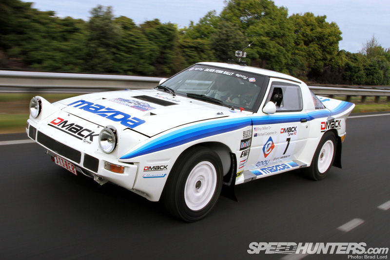 Retro Rally: Rhys Millen's Group B Rx-7