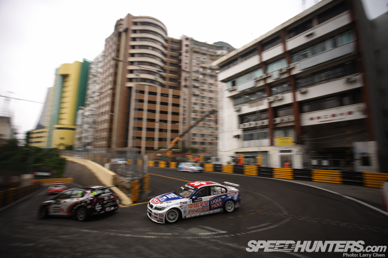 Driving The Mean Streets Of Macau