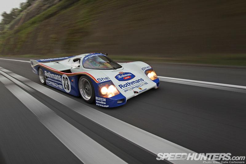 Porsche 962c Prowls The Streets Speedhunters