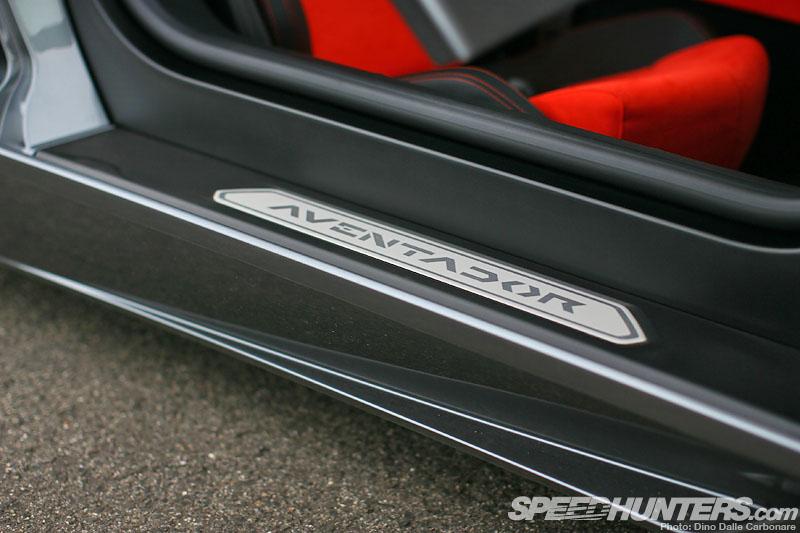 Lamborghini Aventador badge