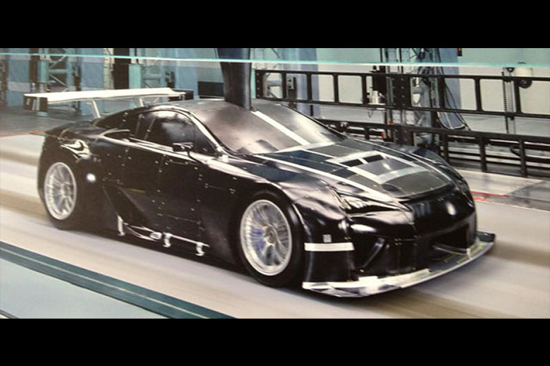 Updated Lexus Gt Racer Breaks Cover