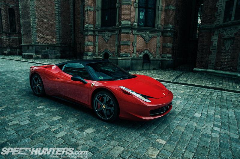 Ferrari 458 Italia In Stockholm
