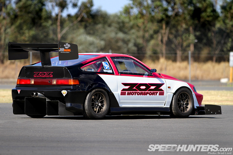 Giant Killer The Mightymouse Cr X Speedhunters
