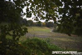 The remains of the Brooklands oval racing circuit, Weybridge, Surrey, UnitedKingdom