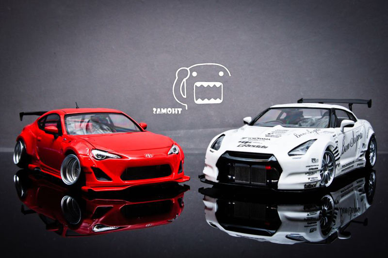 Miniature Art: Rocket Bunny Meets Bensopra