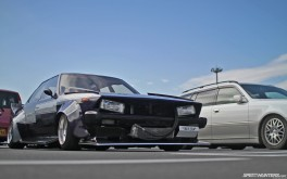 Tokyo Auto Salon Parking Lot - Photo by Mike Garrett