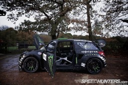 Liam Doran's CitroÃ«n DS3 rallycross Supercar shoot