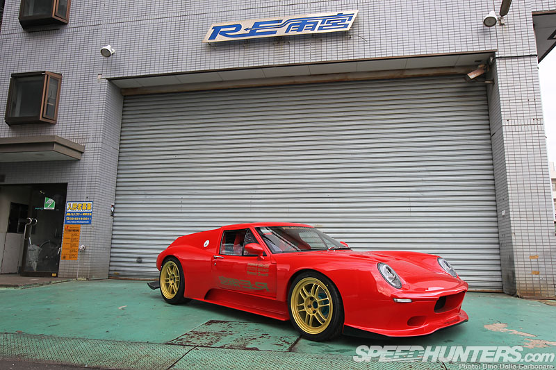 Rotary Buzz: Re-amemiya's 20b Lotus Europa
