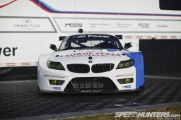 The launch of the BMW Z4 GTE at Daytona Speedway, Florida, 11 February 2013
