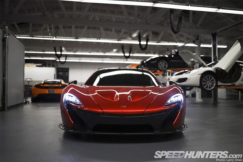 An Exclusive Preview Of The Mclaren P1