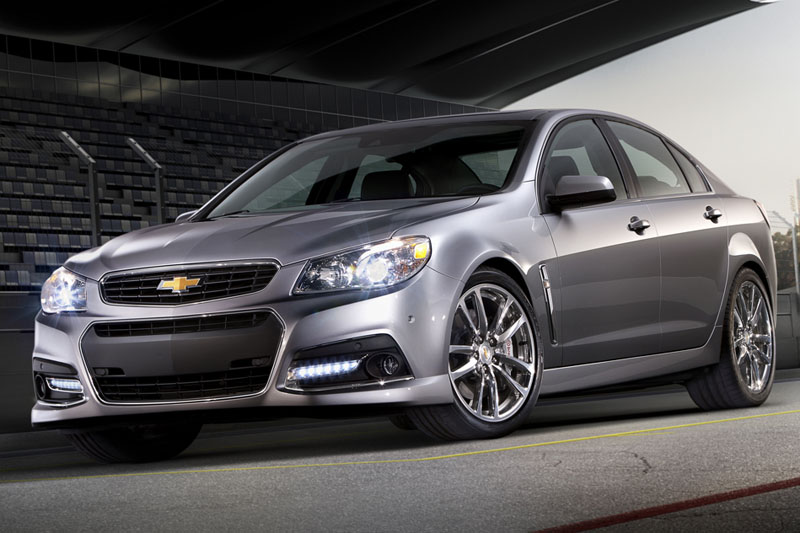Four Door Muscle: The 2014 Chevy Ss
