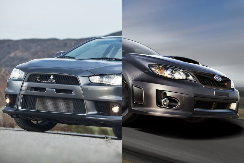 Poll: Evo Vs Impreza