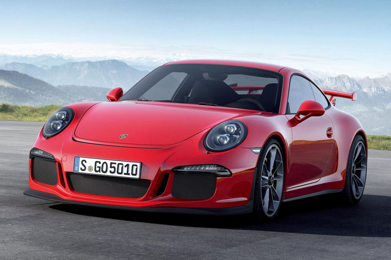 Celebrating 50 In Style: The New Porsche 911 Gt3