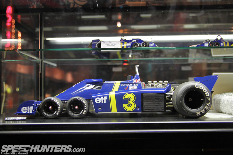 Diecast Dreaming: 1:8 Scale Tyrrell P34 In Tokyo