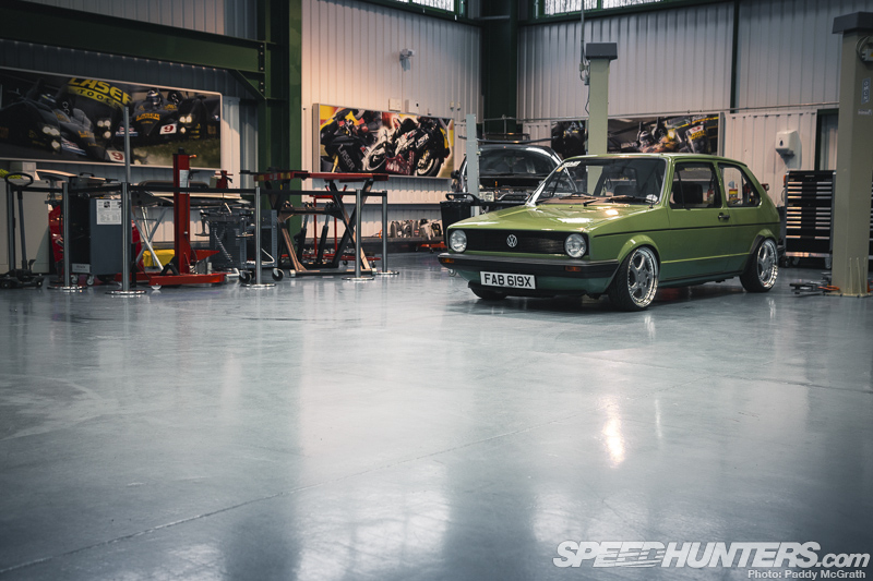 The Milkman: Pd-powered Volkswagen Mki Golf