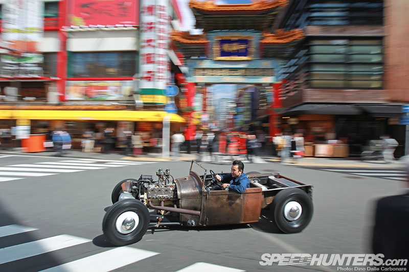 The Kid Rocker: Matsui's '29 Ford Model A Hot Rod