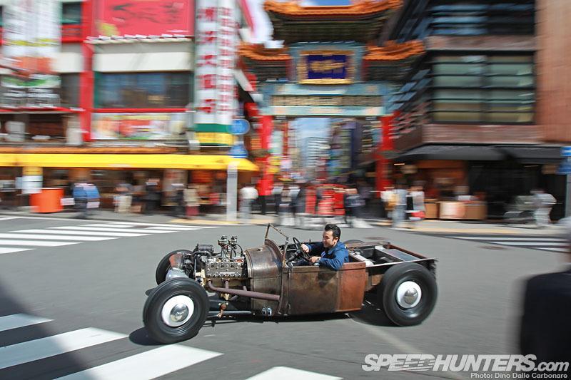 The Kid Rocker: Matsui's '29 Ford Model A HotRod