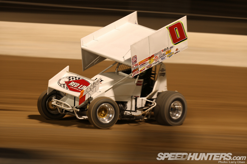 World Of Outlaws Doin It Sideways In Sin City Speedhunters