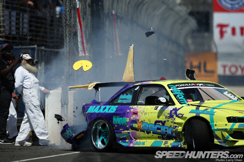 Formula Drift Explodes Into Long Beach