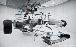 1920x1200 'View Suspended II' exploded F1 carPhoto by Jonathan Moore