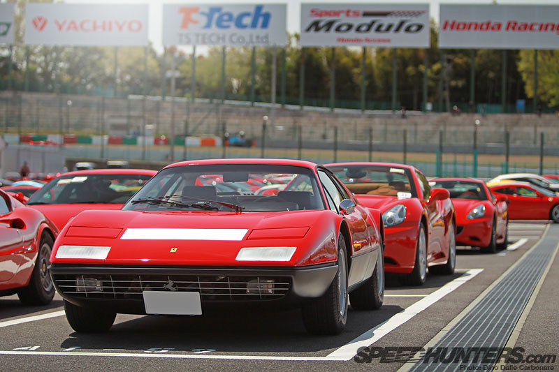 Ferrari Racing Days Japan: The Parking Lots