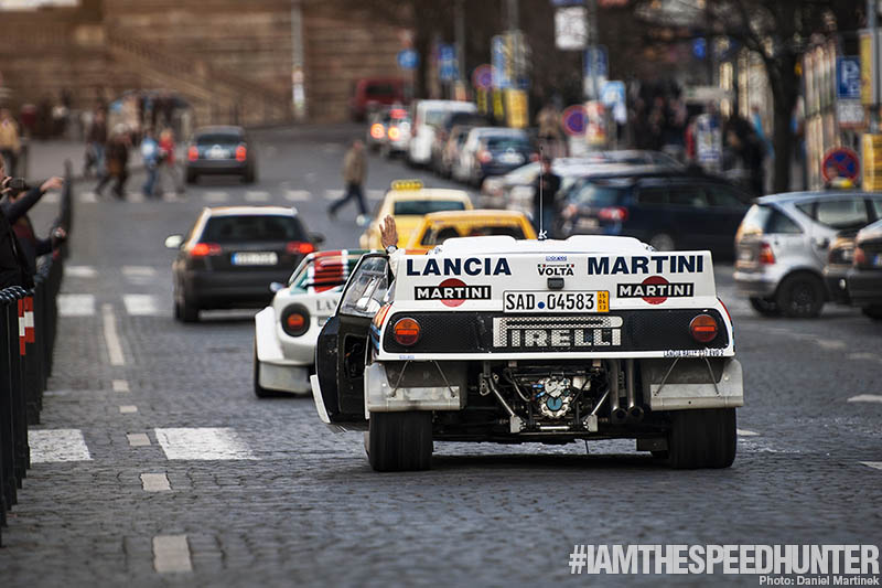 #iamthespeedhunter: Lancia Legends Hit Prague