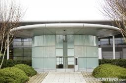 McLaren's headquarters in Woking,Surrey