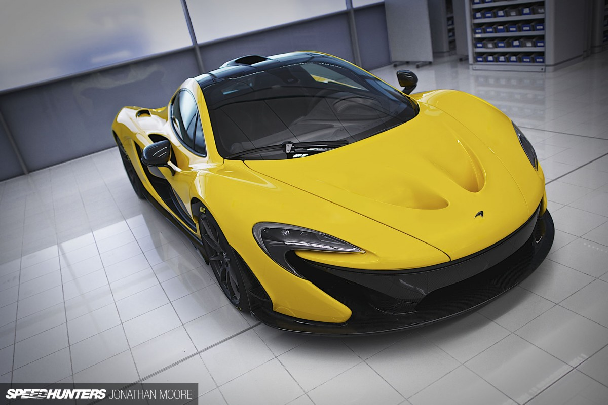 Hyperdesign In Extremis: Stephenson And The McLaren P1