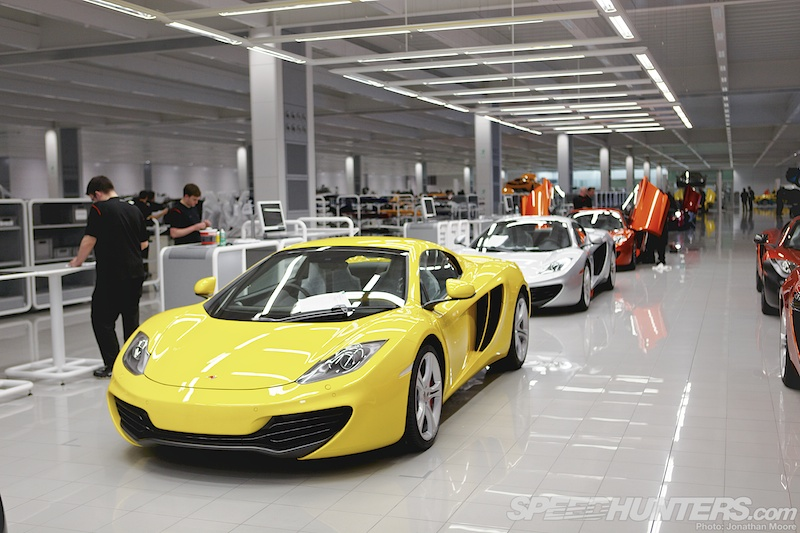The Process: Building A Mclaren MP4-12C