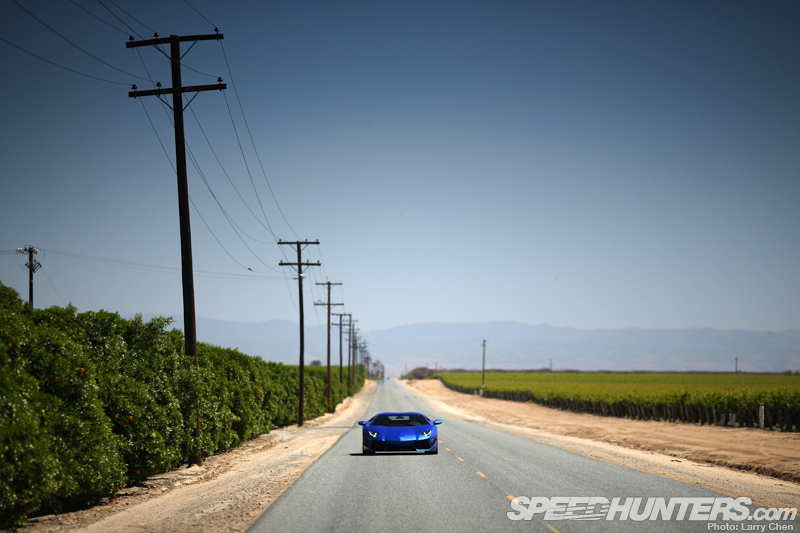 Search For Silence: The Aventador Dream Drive