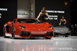 The press days for the 83rd Geneva Motor Show at Palexpo, Geneva, Switzerland, 5-6 March2013