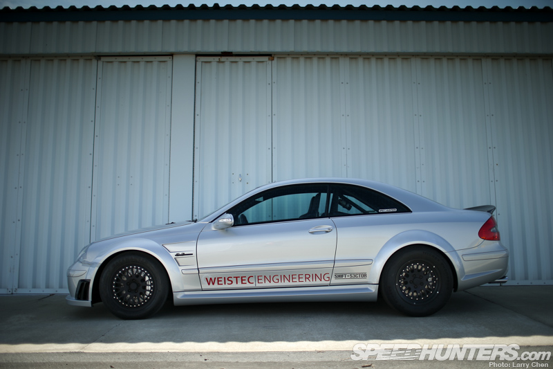 German Muscle: Weistec's Clk63 Amg Black