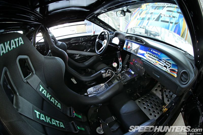 Another Area Where The Car Saw Changes Over The Offseason Was In The  Cockpit. You Can Never Over Stress The Importance Of Safety, So GReddy  Teamed Up With ...
