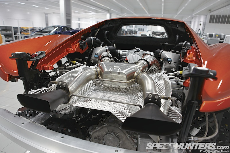 The Process: Building A Mclaren MP4-12C - Speedhunters