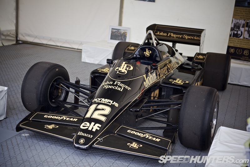 The Magnificent Seven: Senna's Cars At Donington