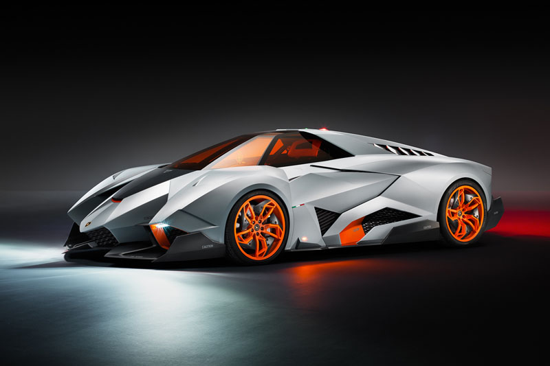 Fighter Jet For The Ground: The Lamborghini Egoista