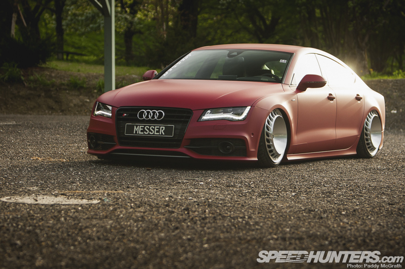 Messer Is More: The Turbo Fan Audi A7