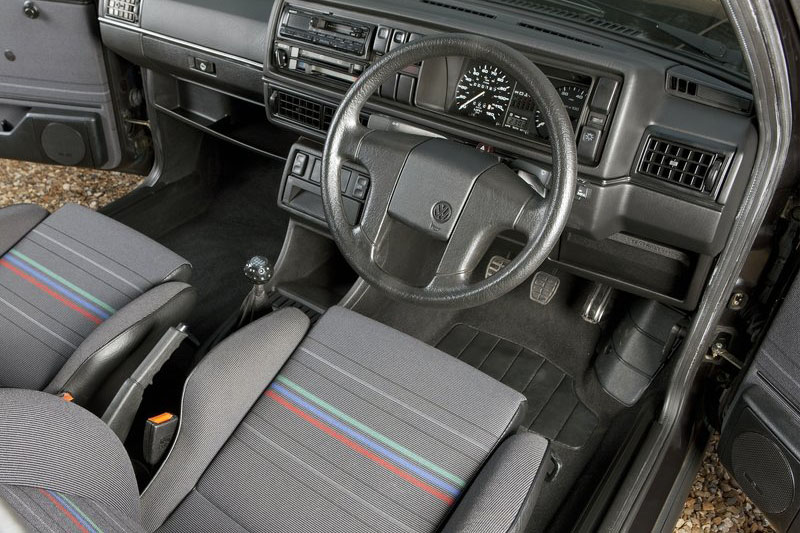 Golf 2 interior styling