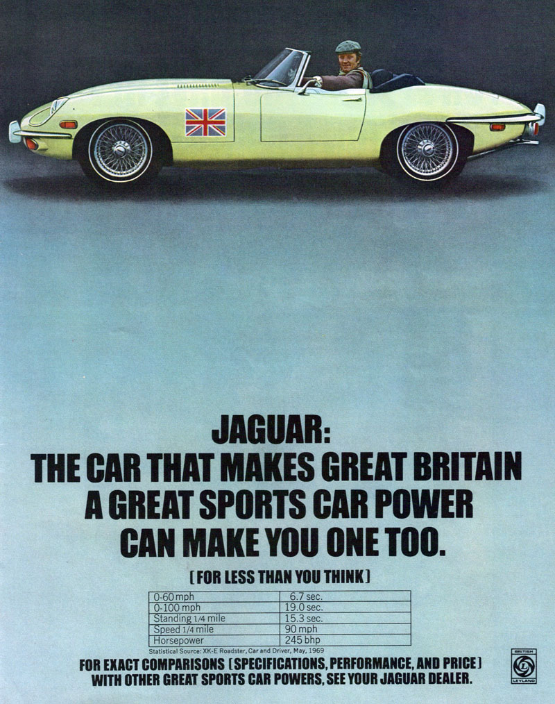 1970 The Greatest Year Ever Speedhunters Ford Thunderbird Specs Even Though Jaguar E Type Is Much More Associated With 1960s World Famous Jag Was Still Very Part Of Automotive Landscape During