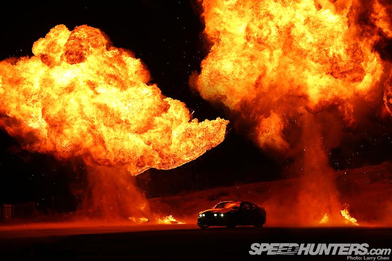 Vaughn Gittin Jr's Fire Drift Behind TheScenes